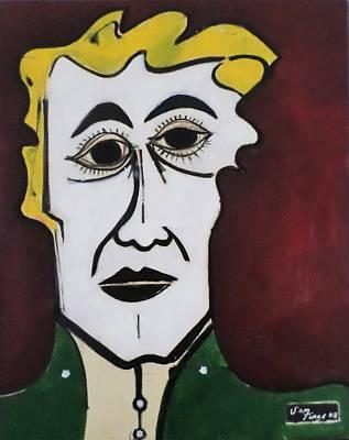 Painting - Personality by Adalardo Nunciato  Santiago