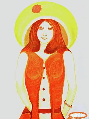Painting - Personas 1 by Lorna Maza