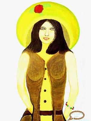 Painting - Personas 2 by Lorna Maza