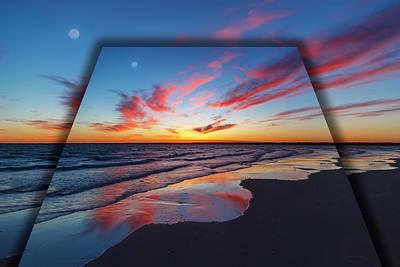Beach Sunset Digital Art - Perspectives  by Betsy Knapp