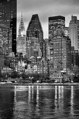 Queens Ny Photograph - Perspectives V Bw by JC Findley