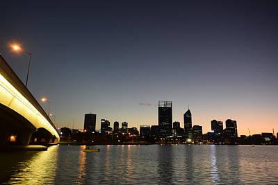 Sunset Photograph - Perth At Dawn by Anna Iliescu