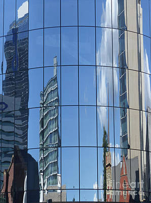 Photograph - Perth - City Reflections by Phil Banks
