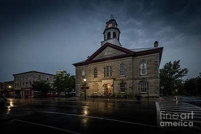 Photograph - Perth Town Hall by Roger Monahan