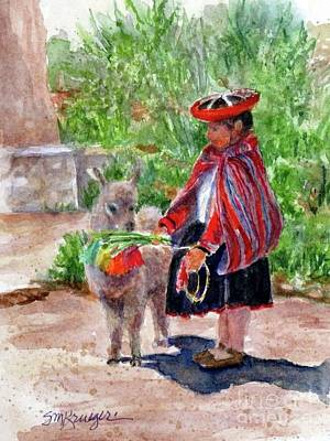 Painting - Peru1 by Suzanne Krueger