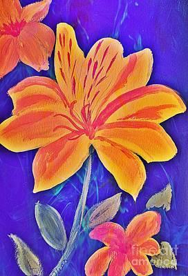 Photograph - Peruvian Lily by Maria Urso