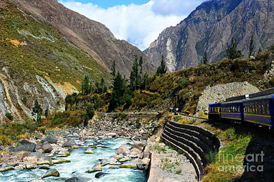 Photograph - Peruvian Railway by Nika Lerman