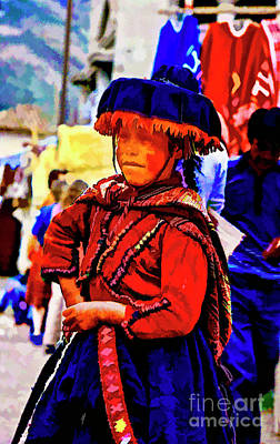Photograph - Peruvian Women by Rick Bragan