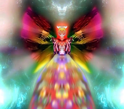 Blue Healer Digital Art - Pesagniyah by Raymel Garcia