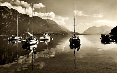 Photograph - Pescallo Harbor by Joe Bonita