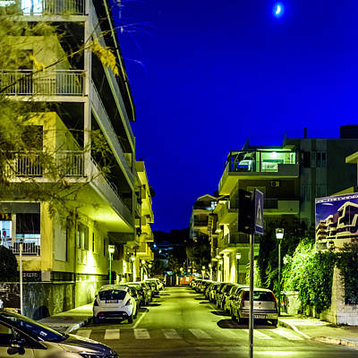 Photograph - Pescara In The Moonlight by Randy Scherkenbach