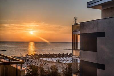 Photograph - Pescara Sunrise by Randy Scherkenbach
