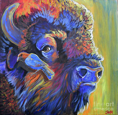 Pesky Cowbird Art Print