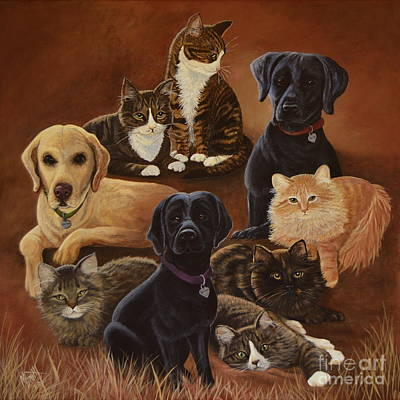 Painting - Pet Circle Of Life by Marilyn Smith