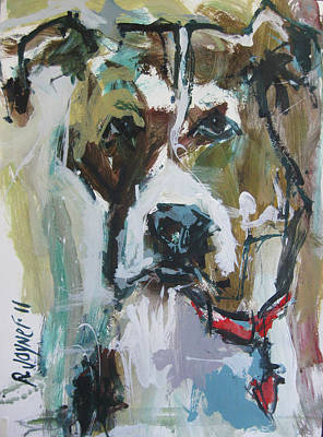 Art Print featuring the painting Pet Commission Painting by Robert Joyner
