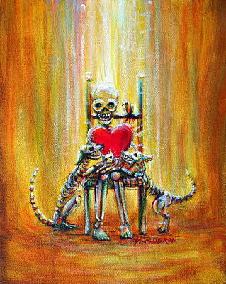 Painting - Pet Love by Heather Calderon