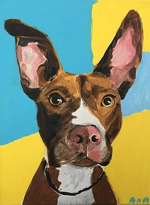 Easterseals Painting - Pet Portrait by Ana L