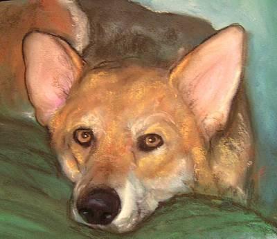 Pet Portrait Art Print by Darla Joy  Johnson
