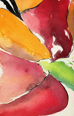 Painting - Petal Burst by Carrie Godwin