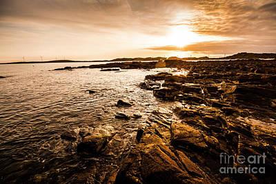 Photograph - Petal Point Ocean Sunrise by Jorgo Photography - Wall Art Gallery