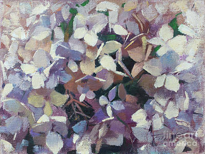 Wall Art - Painting - Petal Puzzle by Patrick Saunders