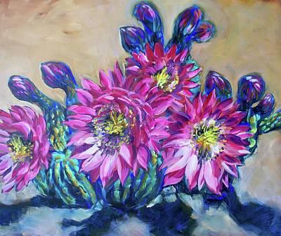Painting - Petalos De Rosa by Sheila Tajima