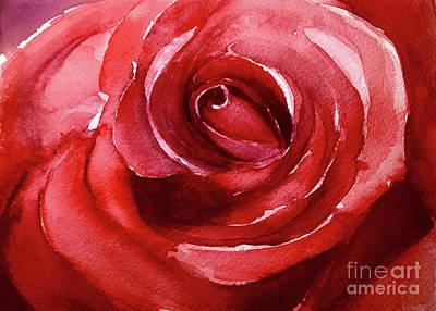 Painting - Petals by Allison Ashton