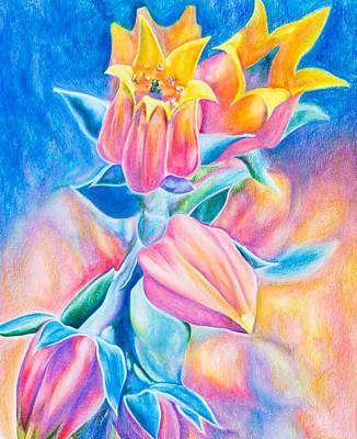 Petals Of Love Art Print