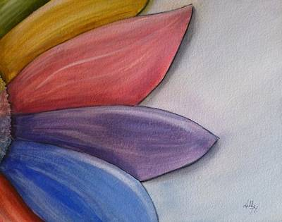 Painting - Petals Of Many Colors by Kelly Mills