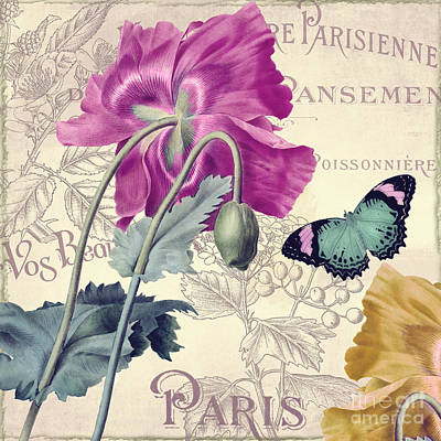 Petals Of Paris IIi Original by Mindy Sommers