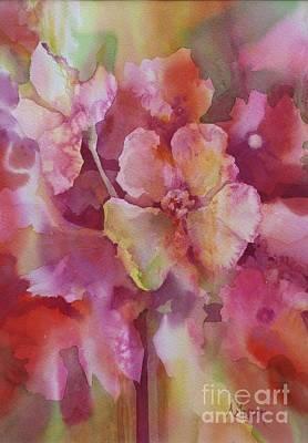 Painting - Petals, Petals, Petals by Donna Acheson-Juillet