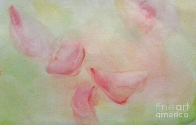 Regular Mixed Media - Petals by Tonya Merrick