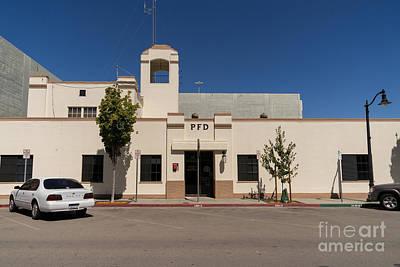 Photograph - Petaluma Fire Department In Petaluma California Usa Dsc3835 by Wingsdomain Art and Photography