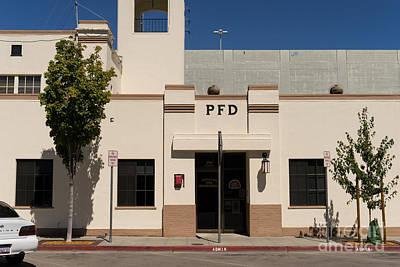 Photograph - Petaluma Fire Department In Petaluma California Usa Dsc3836 by Wingsdomain Art and Photography