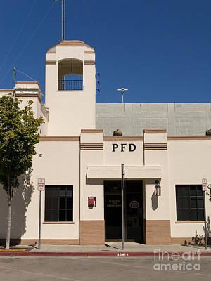 Photograph - Petaluma Fire Department In Petaluma California Usa Dsc3837 by Wingsdomain Art and Photography