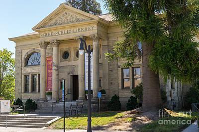 Petaluma Free Public Library And Petaluma Museum Petaluma California Usa Dsc3779 Art Print by Wingsdomain Art and Photography