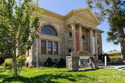 Petaluma Free Public Library And Petaluma Museum Petaluma California Usa Dsc3782 Art Print by Wingsdomain Art and Photography