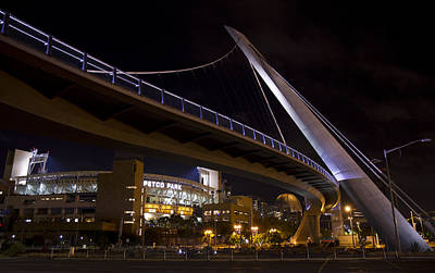 Photograph - Petco Park And The Pedestrian Bridge by Nathan Rupert