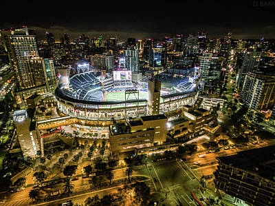 Petco Park Art Print by Doug Barr