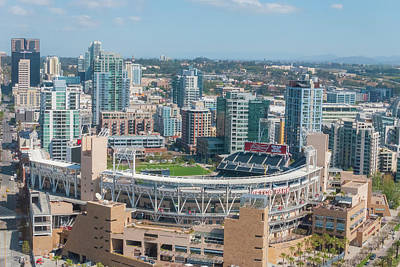 San Diego California Baseball Stadiums Photograph - Petco Park by Pamela Williams