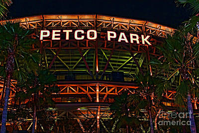 San Diego California Baseball Stadiums Photograph - Petco Park by RJ Aguilar