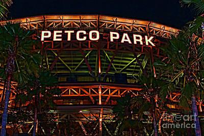 Petco Park Print by RJ Aguilar