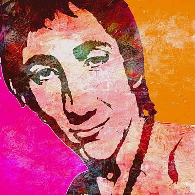 Lead Vocalist Painting - Pete Townshend 2 by Otis Porritt