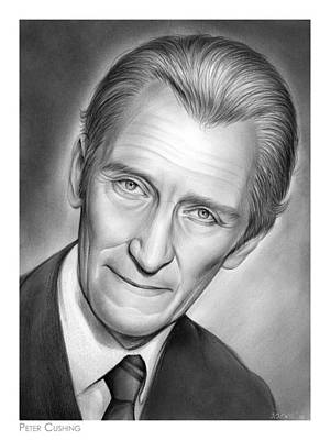 Drawings Rights Managed Images - Peter Cushing Royalty-Free Image by Greg Joens