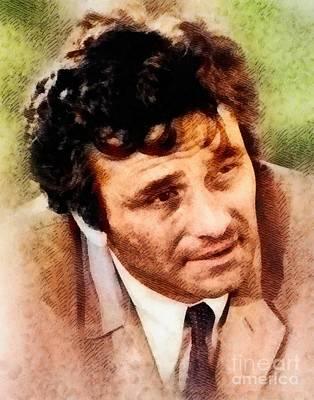 Musicians Royalty-Free and Rights-Managed Images - Peter Falk as Columbo by John Springfield
