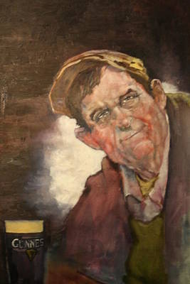 Painting - Peter From Ennistymon by Kevin McKrell