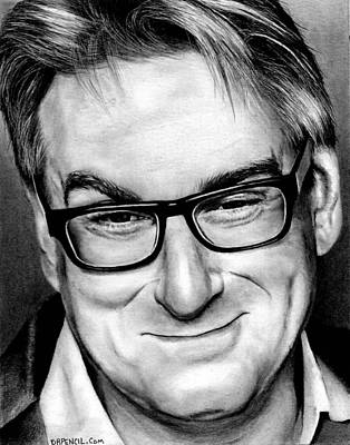 Drawing - Peter Gould by Rick Fortson