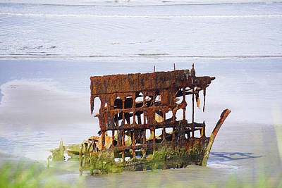 Photograph - Peter Iredale by Angi Parks