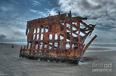 Peter Photograph - Peter Iredale by Hilton Barlow