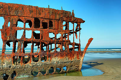 Photograph - Peter Iredale I by Dee Browning